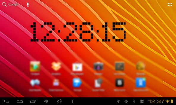 Vital Clock widget screenshot 3