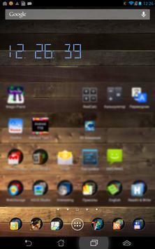 Vital Clock widget screenshot 1