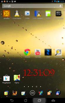 Vital Clock widget screenshot 2