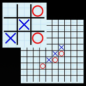 Simple tic-tac-toe icon
