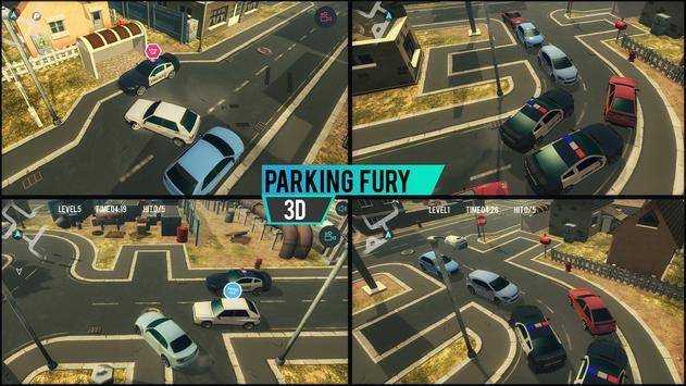Parking Fury 3D captura de pantalla 1
