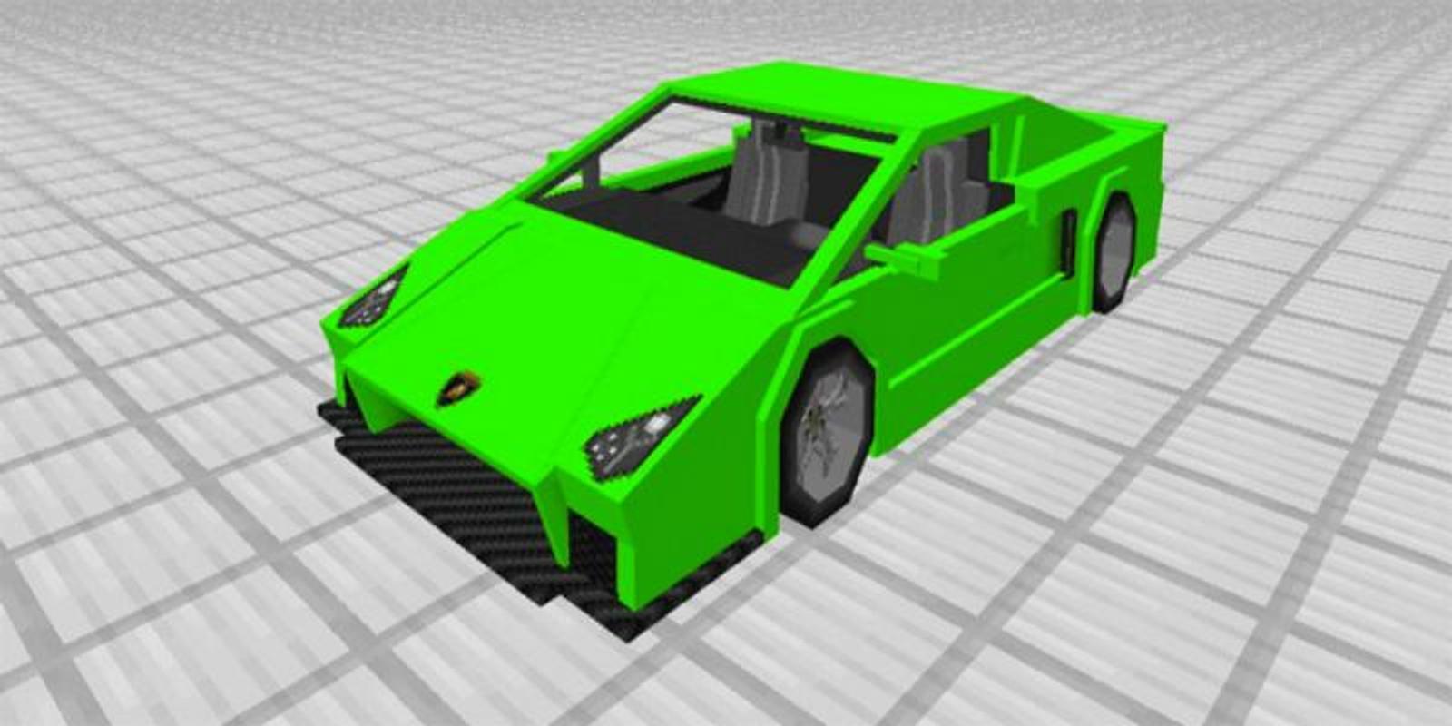 Sport Car Mod Lamborghini for Minecraft