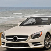 Wallpaper Mercedes Benz SL550 icon