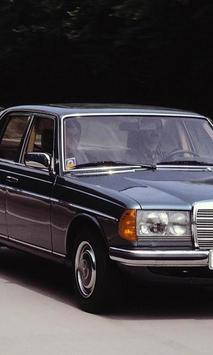Wallpaper Mercedes EClassW123 poster