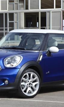 Jigsaw Puzzles Mini Cooper Paceman poster