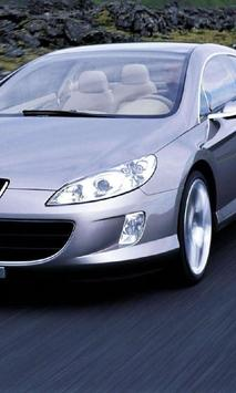 Puzzles Jigsaw Peugeot 407 poster