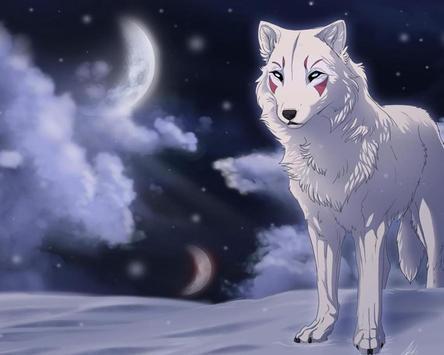 Wolf Anime Wallpapers Apk Screenshot