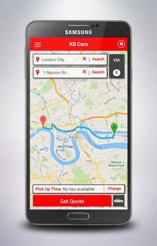 KBCars, Kb Taxis, Kb Cars. screenshot 3