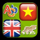 English -Vietnamese vocabulary icon