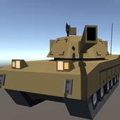 Craft Tank War 3D icon