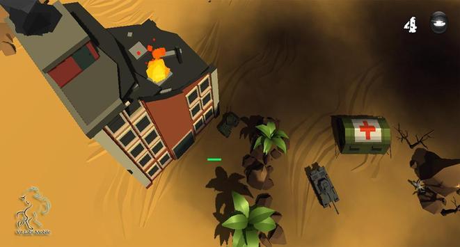 Craft Tank War 3D poster