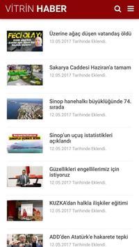 Vitrin Haber - Sinop Haberleri poster