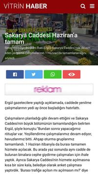 Vitrin Haber - Sinop Haberleri apk screenshot