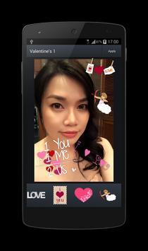 Free Valentine's Sticker Pack1 apk screenshot