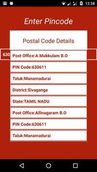 Indian Post Pin codes Finder capture d'écran 3