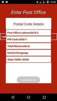 Indian Post Pin codes Finder imagem de tela 6