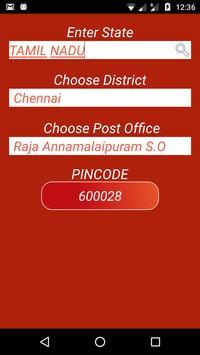 Indian Post Pin codes Finder imagem de tela 7