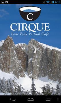 Cirque Virtual Cafe poster