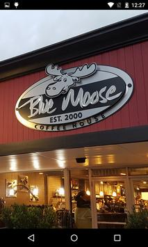 Blue Moose Coffee House poster