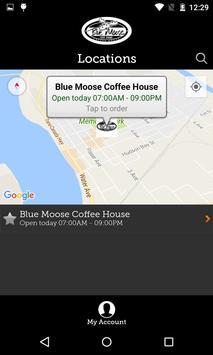 Blue Moose Coffee House screenshot 1