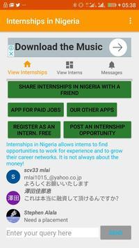 Internships in Botswana poster