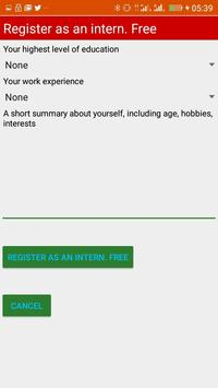 Internships in Botswana screenshot 1