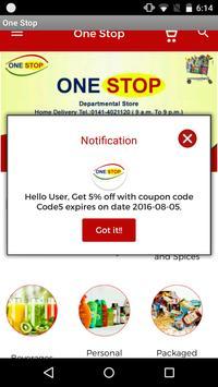 One Stop Departmental Store apk screenshot