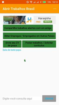 Open Jobs Brazil poster