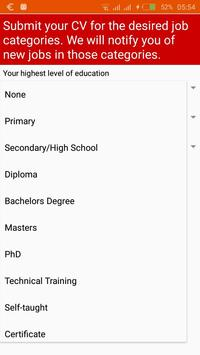 Open Jobs Honduras screenshot 3