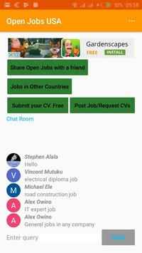 Open Jobs Honduras apk screenshot