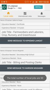 Open Jobs Kenya screenshot 3