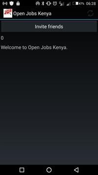 Open Jobs Kenya poster