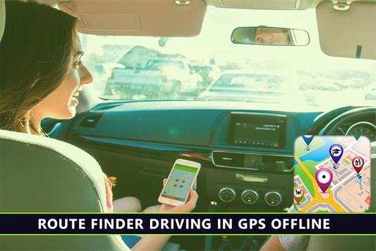Gps route tracker-place finder apk screenshot