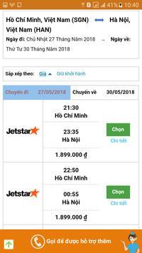 ViVaViVu - Vé máy bay giá rẻ khuyến mãi screenshot 7