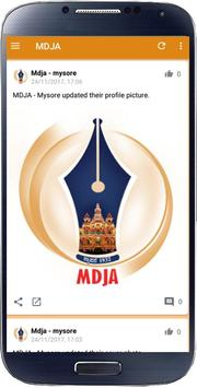 Mysore District Journalist Association - MDJA poster