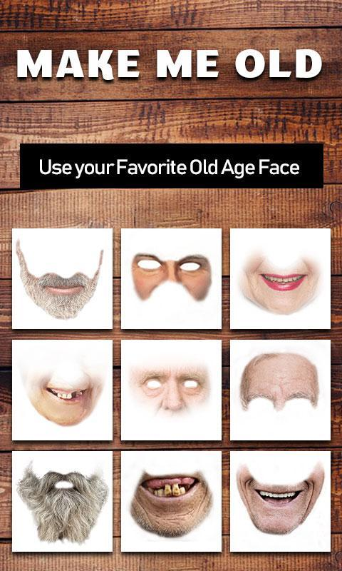 Make me old photo editor - old men Face Changer for Android