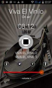 Viva el Vinilo Radio apk screenshot