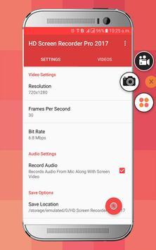 HD Screen Recorder Pro screenshot 1