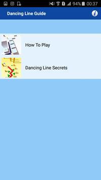 Guide of Dancing Line apk screenshot