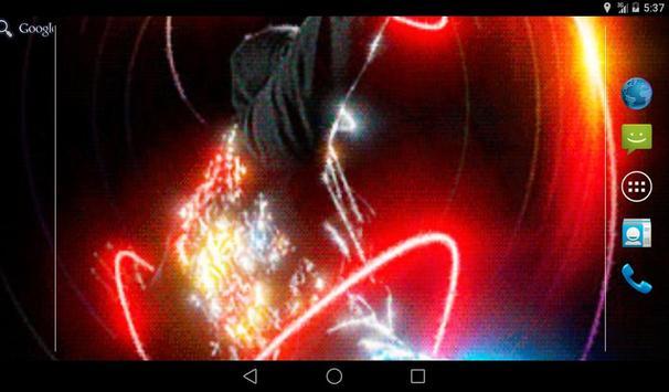 Neon Dancer Live Wallpaper apk screenshot