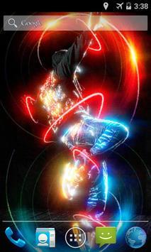 Neon Dancer Live Wallpaper poster