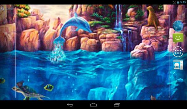 Two Worlds Live Wallpaper apk screenshot