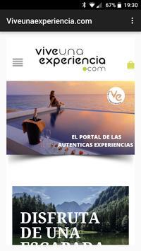 Vive Una Experiencia poster