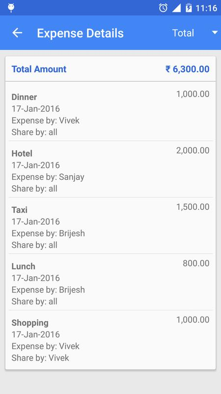 trip expense manager for android apk download