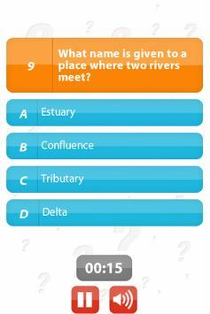 Rivers and Seas - 100Q Quiz screenshot 1