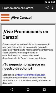 Vive Carazo screenshot 2
