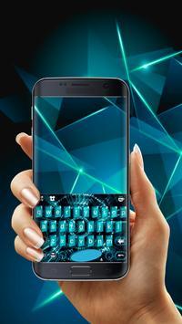 Gorgeous Tech Keyboard Free Emoji Theme screenshot 1