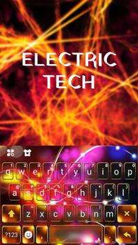 Colorful Tech Electric Theme poster