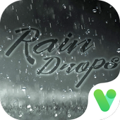 Pure Rain Drops Free Emoji Theme icon