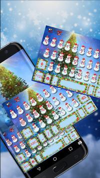 Holy Christmas Keyboard Theme poster